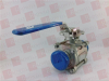 A-T CONTROLS INC 77SN-2-PTFE ( BALL VALVE 2IN CF3M, 1000PSI 316L SS, AVAILABLE, SURPLUS, NEVER USED, 2 YEAR RADWELL WARRANTY ) -- View Larger Image