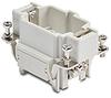 Size 6B Male Insert for Multi-wire Connector: 6-pole, 16 amp -- ZP-MC06B-1-MC006
