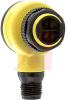 Sensor; Photoelectric; 4 in.; 10 to 30 VDC; 6.5 in., 4-Pin Euro-Style QD; PNP -- 70167961 - Image