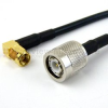 TNC Male to RA SMA Male Cable RG-58 Coax in 120 Inch -- FMC0304058-120 -Image