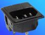 Power Inlet-Fuse Module IEC 320-C14 -- AEL-JR 101-2FS - Image