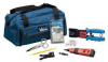 Tool Kit,Pro Network/TELCO Installer Kit -- 6KJT7