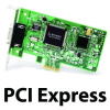 2 Port Low Profile PCIe RS232 POS 1A -- PX-857 -- View Larger Image