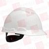 3M H-701R-UV ( (PRICE/CA, 20EA/CA) HARD HAT WITH UVICATOR WHITE -4PT SUSPENSION ) -Image