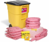 PIG HazMat Spill Kit in High-Visibility Mobile Container -- KIT366 -Image