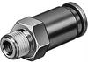 HA-1/2-QS-3/8-U Non-return valve -- 190856 - Image