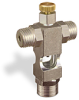 "(Formerly B1629-10X-HN), Cross Small Sight Feed Valve, 1/4"" Male NPT Inlet, 1/4"" Female NPT Outlet, Handwheel -- B1628-243B1HW -- View Larger Image"