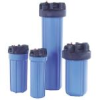 10-20 inch Pure Water Big Blue Housing for 4 1/2 inch OD Cartridge. -- PWHPBB - Image