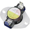 DISC THERMOSTAT, LIMIT CONTROL, OPEN ONRISE, OPENS 150 DEG F, CLOSES 110 DEG F -- 70101839