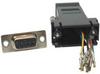 DB9 Female to RJ45 Modular Adapter Color Black -- 31D1-C2