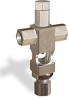 "(Formerly B1629-5X00), Cross Small Sight Feed Valve, 1/8"" Female NPT Inlet, 1/4"" OD Tube Outlet, Tamperproof -- B1628-215B1TW -- View Larger Image"