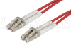 62.5/125, Multimode Fiber Cable, Dual LC / Dual LC, Red 10m -- FODLC-RD-10