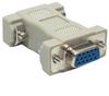 HD15 F/F Molded Gender Changer for PC (Coupler) -- 10GC-C2 - Image