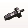 Straight Reducer Connector, Barbed, Black -- HSR5231 -- View Larger Image