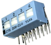DIP Switches -- 206-214RAS-ND - Image