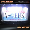 HIGH POWER 18W LED BACK-UP LIGHT LICENSE PLATE FRAME -- LPF-6W