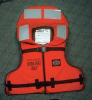 Flotation Device,Work,Orange -- 3MUA2