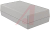 Box; High Impact ABS; Textured Body with Smooth Top Insert; Sheet Metal; Gray -- 70148231