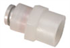 """Parker Push-to-Connect Threaded Adapters, 1/4"""" OD x 1/4"""" NPT(F), 25/Pk -- GO-34040-52 -- View Larger Image"""