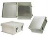 12x10x5 Inch Weatherproof NEMA 4X Enclosure with Blank Aluminum Mounting Plate -- NB121005-KIT -Image