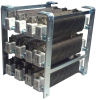 High Current Oval Edgewound Resistor Load Banks -- HCLB Series - Image