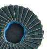 Dynabrade Coated Alumina Zirconia Flap Disc - 120 Grit - 2 in Diameter - 90973 -- 616026-90973 - Image