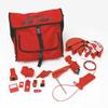 Combination Lockout Satchel w/ Brady Safety Padlocks & Tags -- 754476-99687