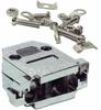 DB15 Plastic Hoods Metalized Screw Type -- 2730-SF-35