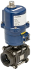 Electrically Actuated 3 PC Carbon Steel Ball Valve -- E3C Series