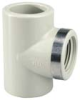 PROGEF® Standard Polypropylene Socket Fusion Fitting Tees - BSP Thread