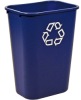 Rubbermaid Desk-Side and Station Recycling Containers -- 6954
