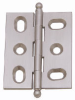 Ball Tipped Hinges, Solid Brass -- 826158