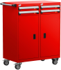 Mobile Compact Cabinet with Partitions -- L3BED-4033B -Image