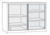 ProGard NU-35 Glass Sliding Door Wall Case - Image