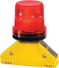 Solar Barricade Lights - D-Bolt, Type D (360° visibility) -- Monster? Motion Safety BS.D.D1