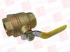 CONBRACO 94A-108-01 ( CONBRACO, 94A-108-01, 94A10801, BALL VALVE, 2IN NPT, 0-150WSP BRZE, ) -Image