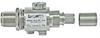 N-Female Bulkhead 0-6 GHz 90V Connector / Lightning Protector -- AL6-NF-14-9