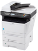 30 PPM Black and White Multifunctional Printer -- ECOSYS FS-1028MFP/DP - Image