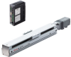 Linear Actuator (Slide) - Straight Type, X-axis Table with Built-in Controller (Stored Data) -- EAS4X-D015-ARMCD-3 -Image