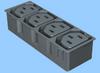 IEC 60320 Four Position Accessory Power Module -- 83020010 -Image