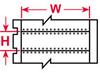 I.D. PRO(R) Plus, LS2000 & BradyMarker(TM) XC Plus Printer BradySleeve(TM) Wire Marker Sleeves (B-319; White; 1.000