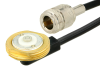 N Female to NMO Mount Connector Cable 60 Inch Length Using RG58 Coax -- PE37851-60 -Image