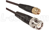 RG174 Coaxial Cable, SMA Male / BNC Male, 2.5 ft -- CC174SB-2.5
