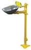 S19214B - Bradley HALO Eyewash, Pedestal mount, Stainless steel -- GO-86001-23 -- View Larger Image