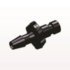 Bayonet Male Connector, Barbed, Black -- BC431 -Image