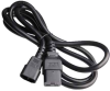 10ft IEC C14 to C19 14/3 SJT Power Cord -- SF-3218-10B-14 - Image