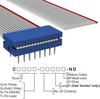 Rectangular Cable Assemblies -- C2PXS-1606G-ND -Image