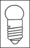 LAMP, HALOGEN, MIDGET SCREW, 3.7V, 1.11W -- 12P6305