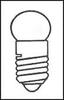 LAMP, HALOGEN, MIDGET SCREW, 3.7V, 1.11W -- 12P6305