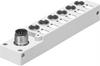 NEDU-L6R1-M8G3L-M12G8 Multi-pin plug distributor -- 574587